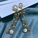 Classical Geometric Series - Color Stone Earrings (Mainland China)