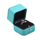 High End PU Leather Jewelry Ring Box (Hong Kong)