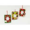 Christmas Picture Frame Ornament (Hong Kong)