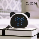 Panda Alarm Desk Digital Clock/LED Clock (Mainland China)
