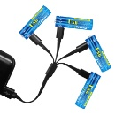 Lithium Ion USB Rechargeable AA Battery (Hong Kong)