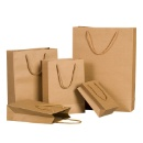 Brown Paper Bag with handles (Mainland China)
