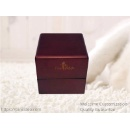 Luxury Rich Cherry Wooden Ring Gift Box (Mainland China)