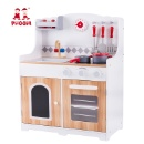Kids Pretend Kitchen Cooking Game Children Wooden Kitchen Toy Play Set For Baby (Mainland China)