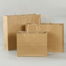 Types of Colorful Kraft Paper Bag With Paper Handle  (Mainland China)