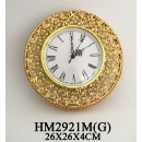 Gold Wall Clock (Mainland China)