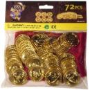 72 Pieces Golden Pirate Coins (Taiwan)