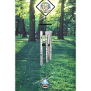 """Memorial Stained Glass Wind Chime – 38"""" (Taiwan)"""
