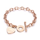 Fashion Design Stainless Steel Bracelet for Women (Mainland China)