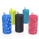 Fashionable Design Fancy Color Fabric Waterproof Bluetooth Speaker (Hong Kong)