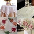 Embroidered Lace Tablecloth and Table Runner christmas prodduct (Mainland China)
