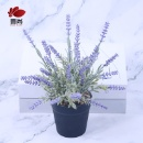 China suppliers best price Plastic basin Lavender Artificial potted plants (Mainland China)
