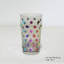 550ml Grey Color Beer Glass Cup with Rainbow Foil Printing (Mainland China)
