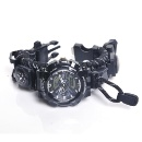 Multi-Functional Waterproof Hiking Emergency Tactical Fire Starter Survival Watch (Mainland China)