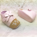 Soft PU Embroidered Baby Shoes (Hong Kong)
