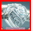 Wholesale Silver Plated Pandora Style Alloy Clip Beads (China)