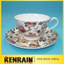 Bone China Coffee Cup Set (China)