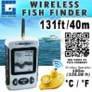 Wireless Sonar River Lake Sea Contour Thermometer C/F Fish Finder (Hong Kong)