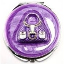 Enamel Crystal Compact Mirror (China)