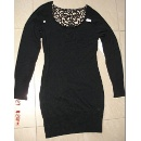 LDS Knitted Dress with Crochet Insert at Back (China)