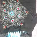 Hand-Embroidered Shawl (India)