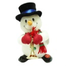 Battery-Operated Snowman Decoration (Taiwan)