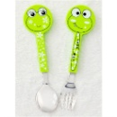 Couple Spoon & Fork-Frog (China)