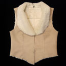 Ladies' Suede Vest (China)