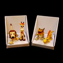 Cartoon Animal Figure Set (Hong Kong)