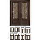 Wrought Iron Entrance Door (China)
