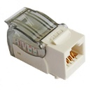 UTP Cat5e Keystone Jack, 90 Degree  (China)