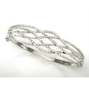 18K Diamond Bangle (Hong Kong)