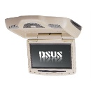 9 inch in car flip down DVD player (China)