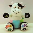 Educational Stuffed Cow (Taiwan)