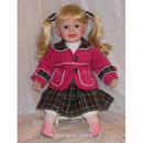 Collectible Vinyl Doll with Stuffed Body (China)