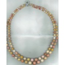 Natural Multi Colored Conch Pearl Necklace (United Kingdom)