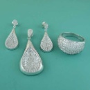 Silver Jewelry Set (China)