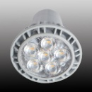 LED Dimmable GU10 7W LED lamp with 25,000 Hours Lifespan and 220-240V (China)