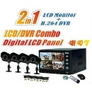 "3G Network 7"" 4CH H.264 LCD/DVR Combo Kit (China)"