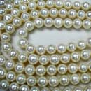 Freshwater White And Round Loose Pearls (Hong Kong)