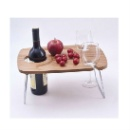 Foldable Table with Bottle and Glass Holder (Hong Kong)