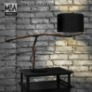 Metal Driftwood Desk Lamp (Thailand)