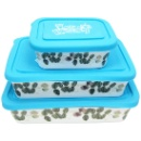 Porcelain Food Storage Container Set (Hong Kong)
