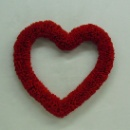 Plaited Felt Heart (Hong Kong)
