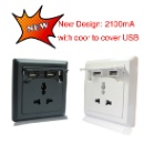 Universal Wall Receptacle Outlet (Hong Kong)