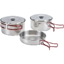 Stainless Steel Camping Cookware (China)