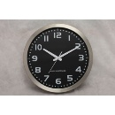 Radio Controlled Metal Wall Clock (Hong Kong)