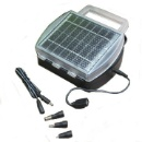 Solar Battery Charger for 4pcs D/C/AA/AAA Size Rechargeable Battery & Mobile Phone (Hong Kong)