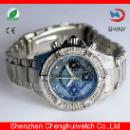 Diamond Japan Movt Stainless Steel Watch (China)