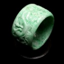 Green Jadeite Bangle (Hong Kong)